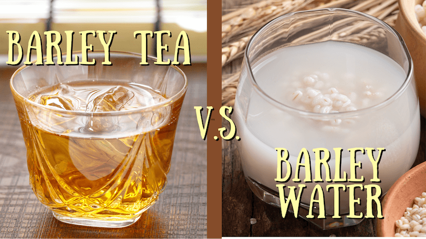 barley tea vs barley water