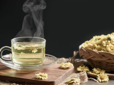 Chrysanthemum tea blog post header