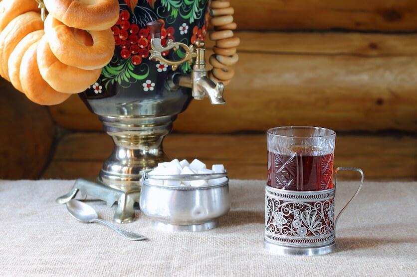 Russian tea glasses