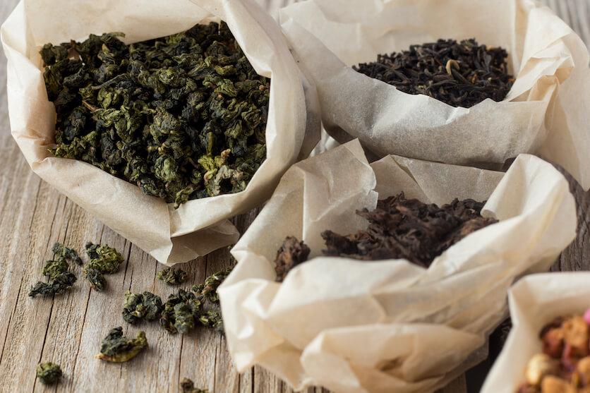 chinese tea types