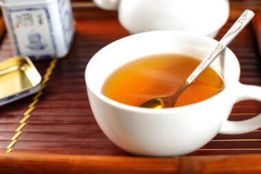 orange pekoe brewed tea