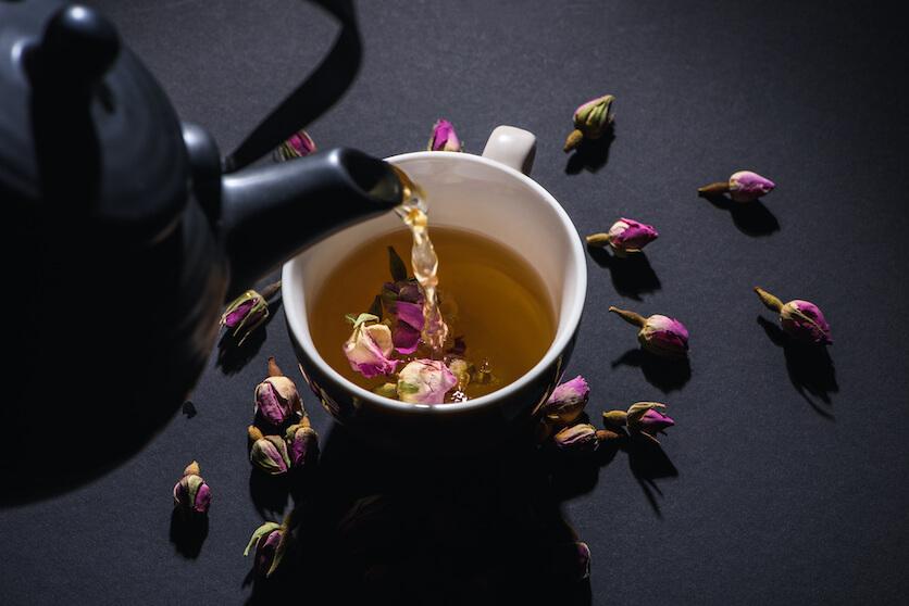 rose tea taste