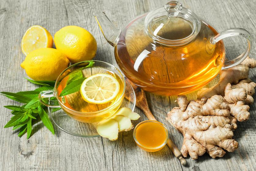 teas for sore throat