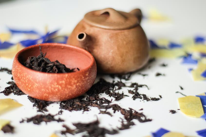 black tea types processing