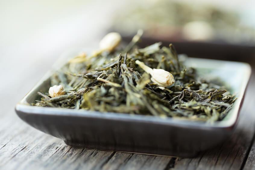 green tea processing