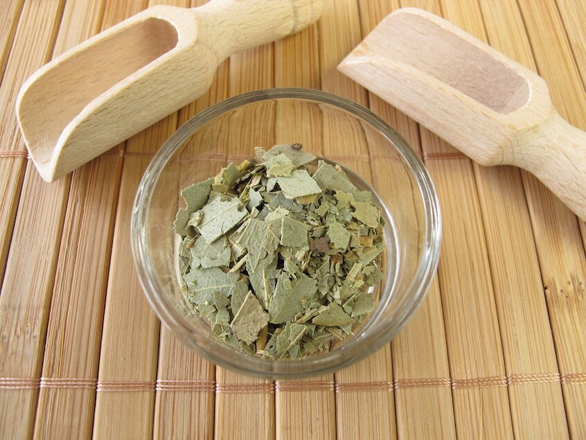 what is in eucalyptus tea