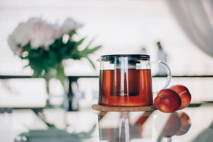 peach tea taste