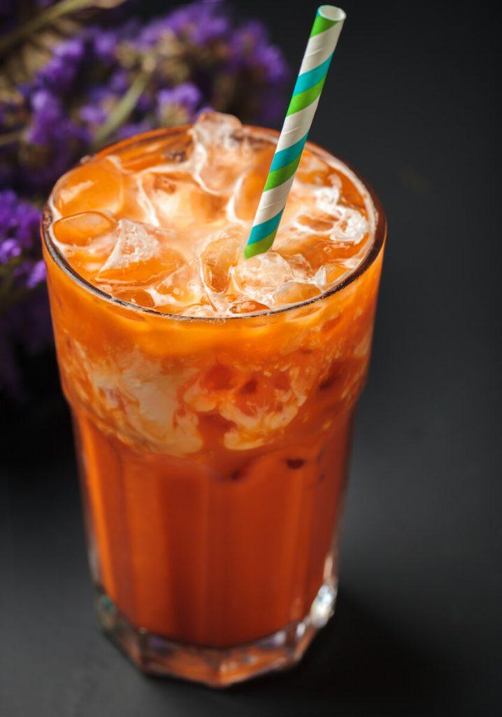 thai tea color